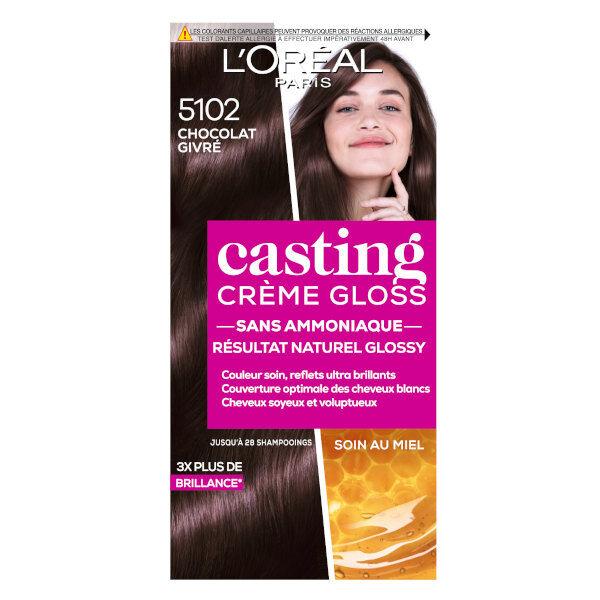 L'Oréal Paris L'Oréal Casting Crème Gloss Coloration Chocolat Givré 5102