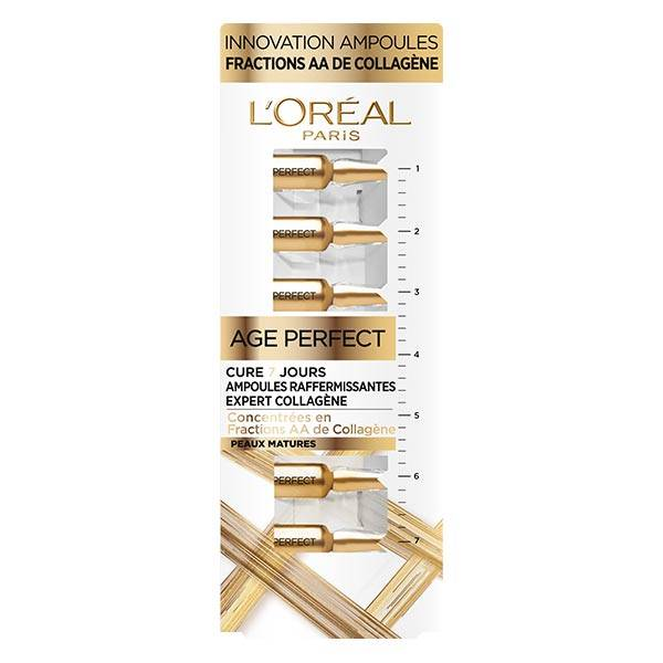 L'Oréal Paris Age Perfect Cure 7 Jours Ampoules Raffermissantes Collagène 7 ampoules