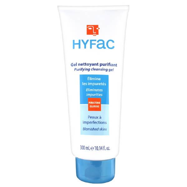 Hyfac Gel Nettoyant Dermatologique 300ml