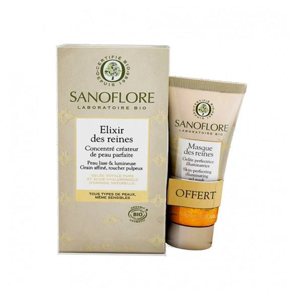Sanoflore Elixir des Reines 30ml + Masque 15ml Offert