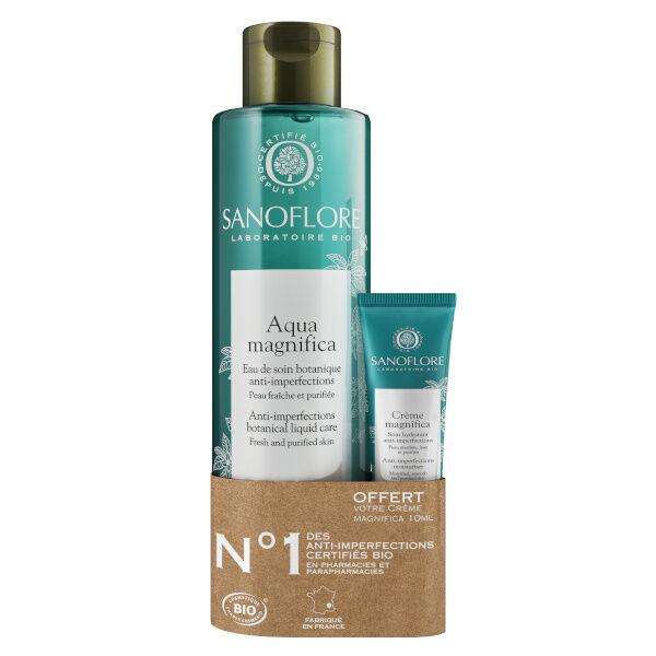 Sanoflore Aqua Magnifica Perfectrice de Peau 200ml + crème magnifica 10ml offert