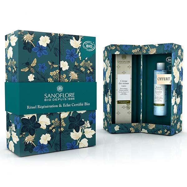 Sanoflore Crème des Reines Légère Bio 40ml + Aciana Botanica Eau Micellaire 50ml Offerte