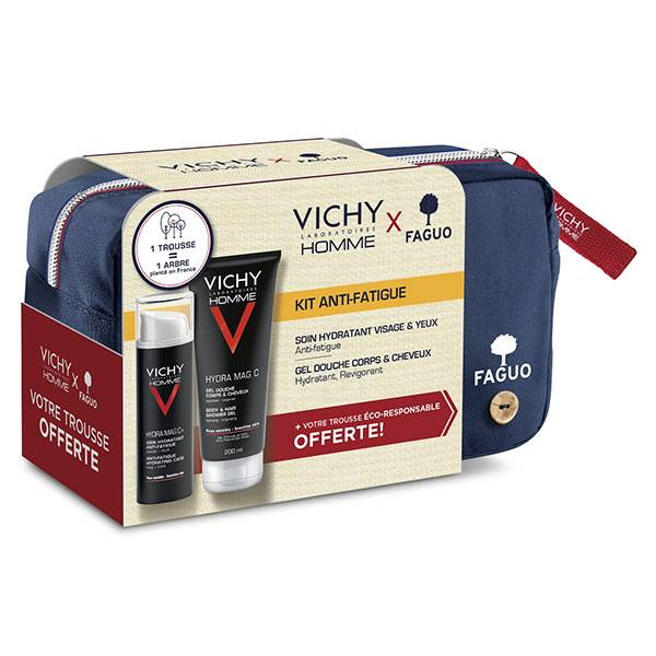 Vichy Homme X Faguo Trousse Kit Anti-Fatigue