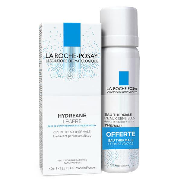 La Roche Posay Hydreane Légère 40ml + Eau Thermale 50ml Offert