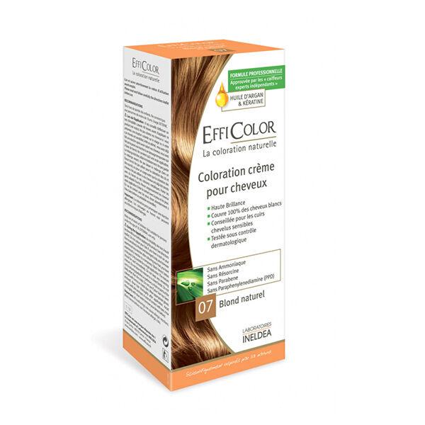 EffiColor Coloration Crème Blond Naturel 07
