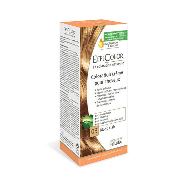 EffiColor Coloration Crème Blond Clair 08