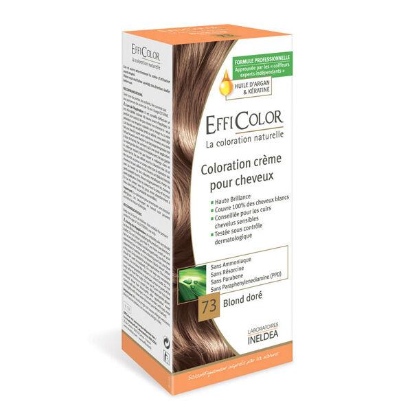 EffiColor Coloration Crème Blond Doré 73