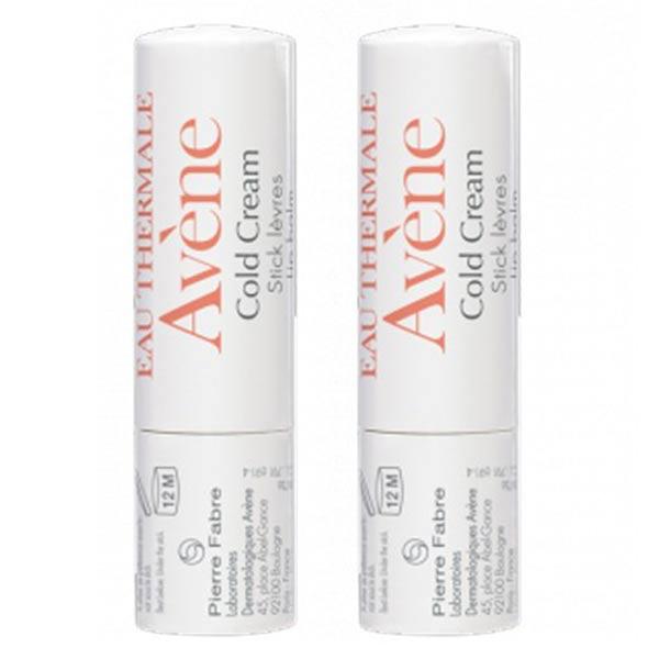 Avène Cold Cream Stick Lèvres Lot de 2 x 4g