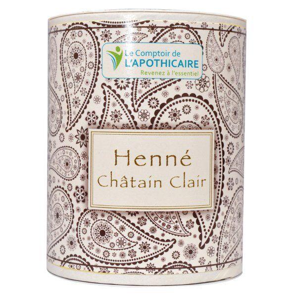 Le Comptoir de l'Apothicaire Henné Châtain Clair 100g