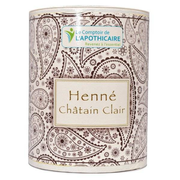 Comptoir de l Apothicaire Le Comptoir de l'Apothicaire Henné Châtain Clair 100g