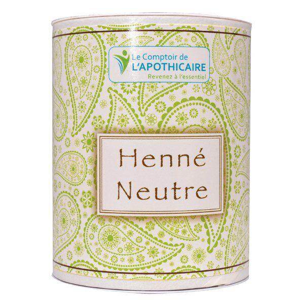 Le Comptoir de l'Apothicaire Henné Neutre 100g
