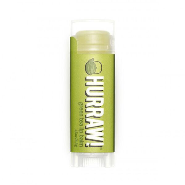 Hurraw! Baume à Lèvres Thé Vert 4,3g