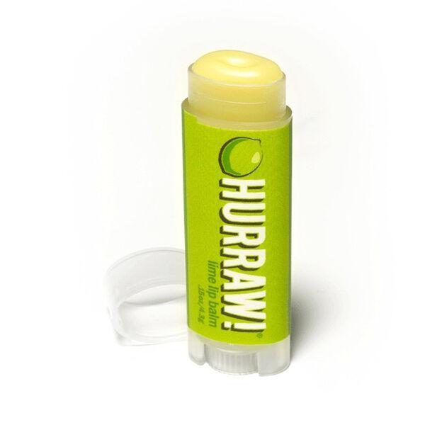 Hurraw! Baume à Lèvres Citron Vert 4,3g