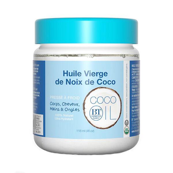 BT Cosmetics Huile Vierge de Noix de Coco 118ml