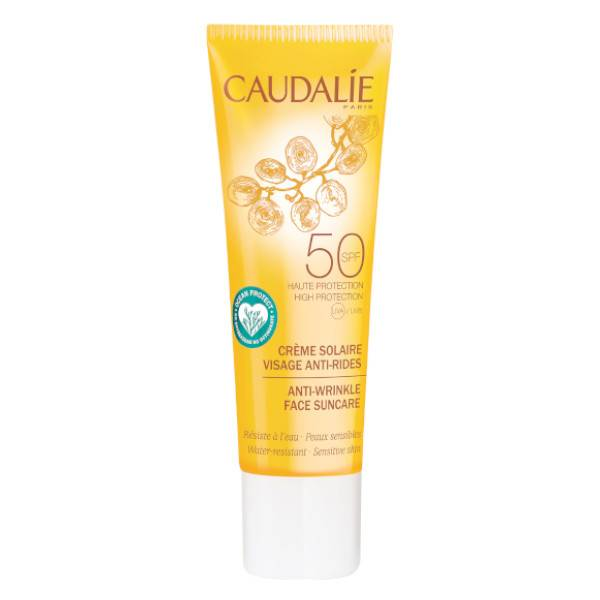 Caudalie Crème Solaire Visage Anti-Rides SPF50 25ml