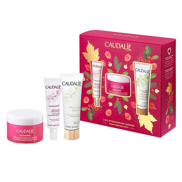 Caudalie Coffret Vinosource Crème SOS 50ml + 2 Produits Offerts