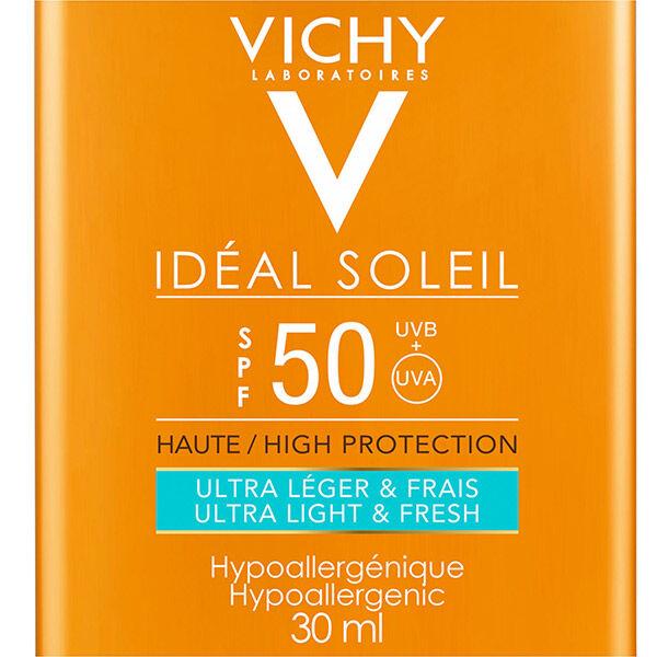 Vichy Idéal Soleil Crème Solaire Ultra-Léger Format Pocket SPF50 30ml