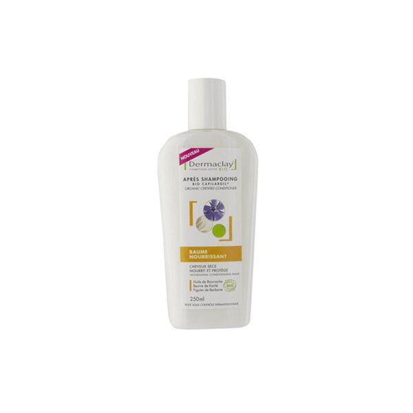 Dermaclay Baume Nourrissant Après Shampooing Cheveux Secs 250ml