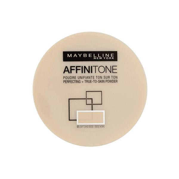 Maybelline New York Maybelline Affinitone Poudre Unifiante Ton sur Ton 03 Light Sand Beige 9g