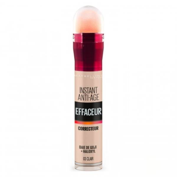 Maybelline New York Maybelline Instant Anti-Age l'Effaceur Anti-Cernes 03 Clair 6,8ml