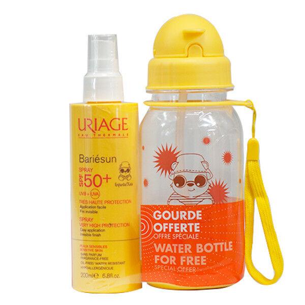 Uriage Bariésun Coffret Enfants Spray SPF 50+ 200ml + Gourde Offerte