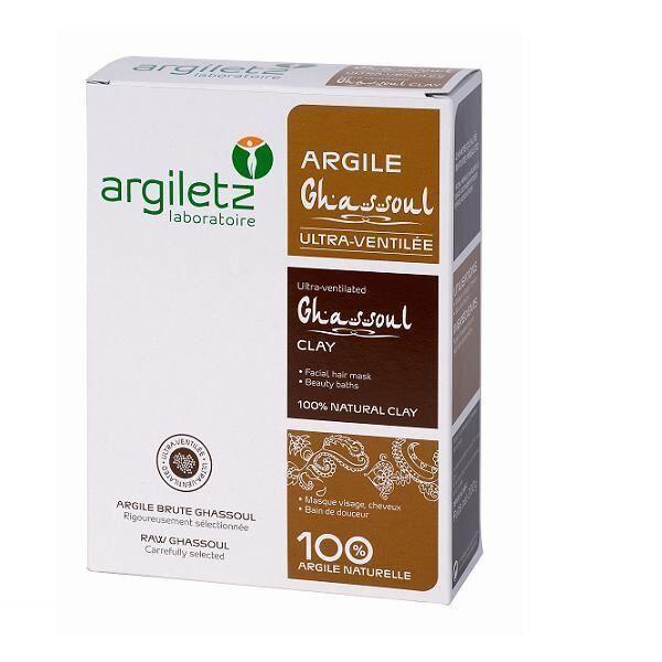 Argiletz Argiles de Couleur Argile Ghassoul Ultra Ventilée 200g