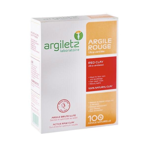 Argiletz Argiles de Couleur Argile Rouge Ultra Ventilée 200g
