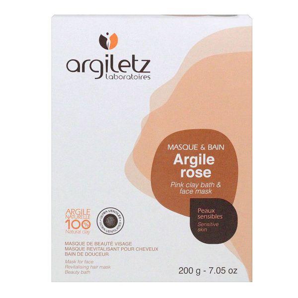 Argiletz Argile Rose Ultra-Ventilée Masque et Bain 200g