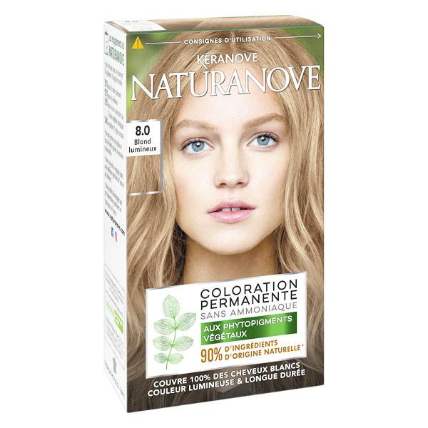 Kéranove Naturanove Coloration n°8 Blond Lumineux