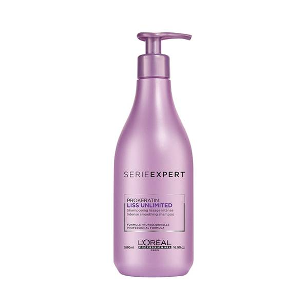 L'Oréal Professionnel Serie Expert Liss Unlimited Shampoing Lissage Intense 500ml