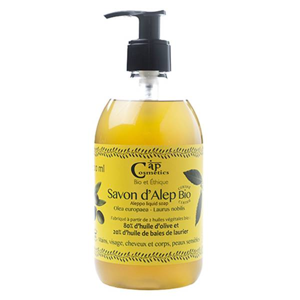 Cap Cosmetics Savon d'Alep Liquide Bio 500ml
