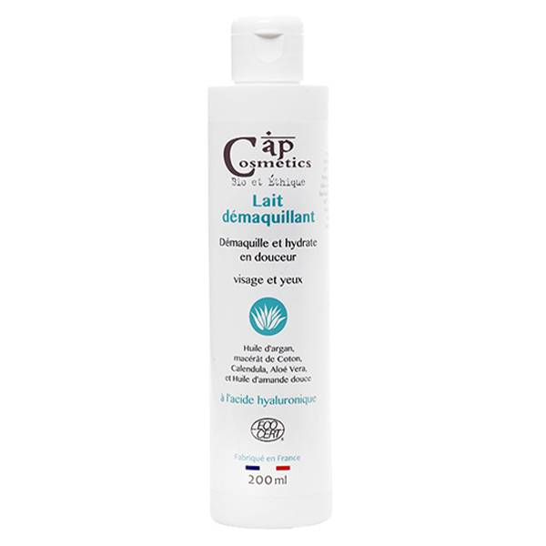 Cap Cosmetics Lotion Lait Démaquillant Bio 200ml