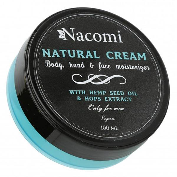 Nacomi Crème Hydratante Visage, Corps et Mains 100ml