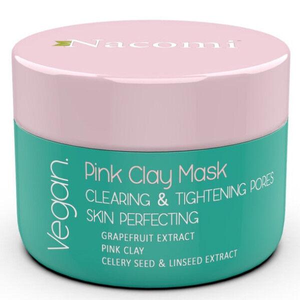 Nacomi Masque Argile Rose Réducteur de Pores 50ml