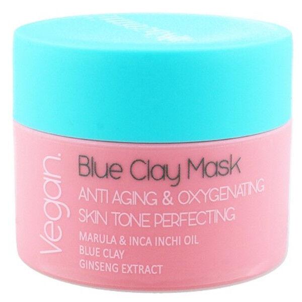 Nacomi Masque Argile Bleue Anti-Âge et Oxygénant 50ml