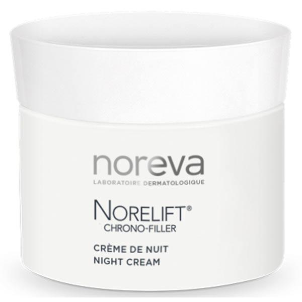 LED NOREVA Noreva Norelift Chrono Filler Crème de Nuit Anti-Rides Lissante Régénérante 40ml