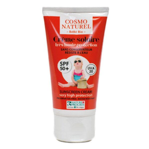 Gravier Bébé Crème Solaire Haute Protection SPF50+ UHT 50ml