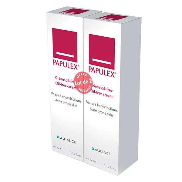 Alliance Pharma France Alliance Pharma Papulex ® Crème Oil-Free Anti-Imperfections Lot de 2 x 40ml