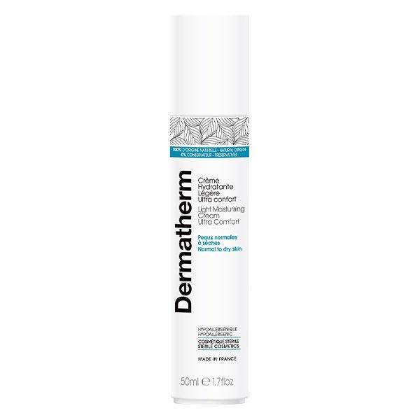 Dermatherm Crème Hydratante Légère Ultra Confort 50ml