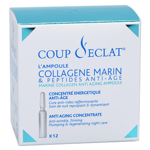Coup d Eclat Coup d'Eclat Concentré Energétique Anti-Age au Collagène Marin 12 ampoules