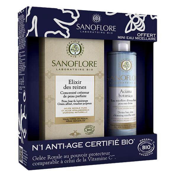 Sanoflore Elixir des Reines 30ml + Mini Eau Micellaire 50ml Offerte