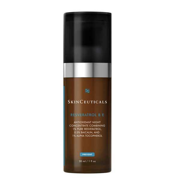 SkinCeuticals Resveratrol B E Sérum Visage Nuit Vitamine E 30ml