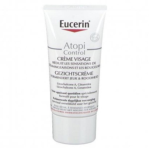 Eucerin AtopiControl Crème Visage Calmante Peaux Atopiques 50ml