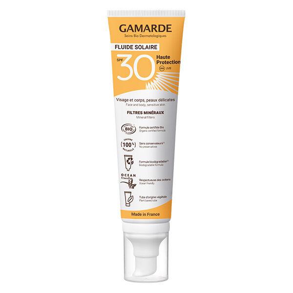 Gamarde Solaire Haute Protection SPF30 Bio 100ml