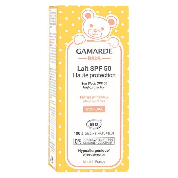 Gamarde Bébé Lait Solaire SPF50 Bio 40ml