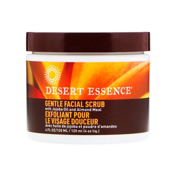 Desert Essence Exfoliant Douceur Visage Jojoba 120ml