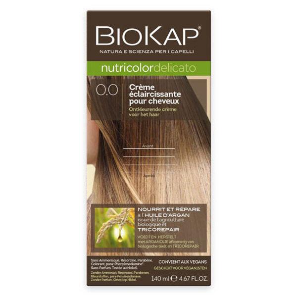 Biokap Nutricolor Delicato Crème Eclaircissante pour Cheveux 0.0 140ml