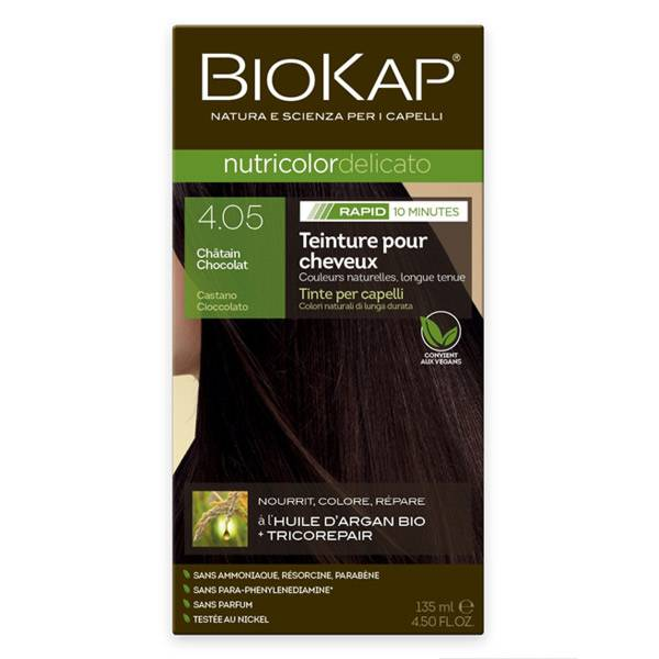 Biokap Nutricolor Delicato Rapid Châtain Chocolat 4.05 135ml