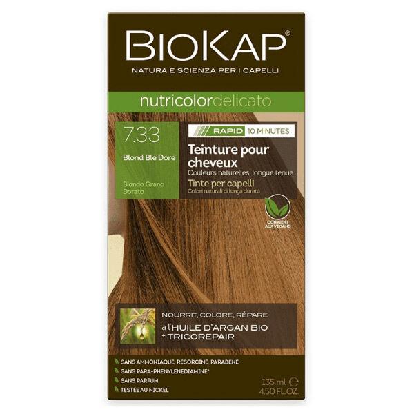 Biokap Nutricolor Delicato Rapid Blond Blé Doré 7.33 135ml