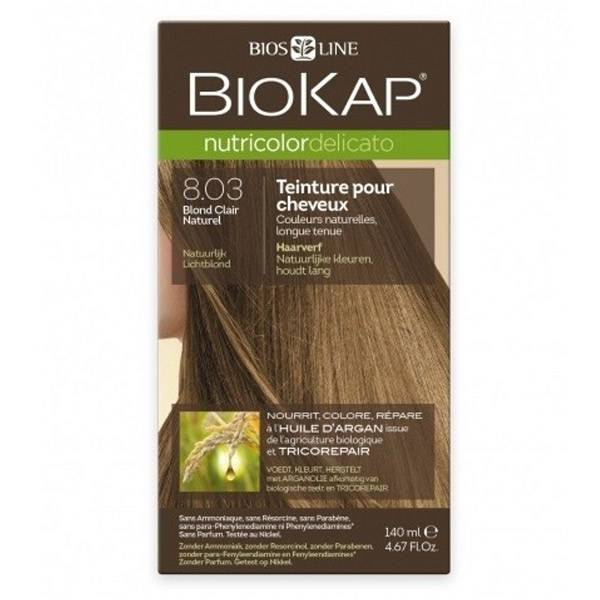 Biokap Nutricolor Delicato Blond Claire Naturel 8.03 135ml
